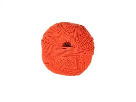 LANA MERINO SUPERFINE IRRESTRINGIBILE ARANCIO